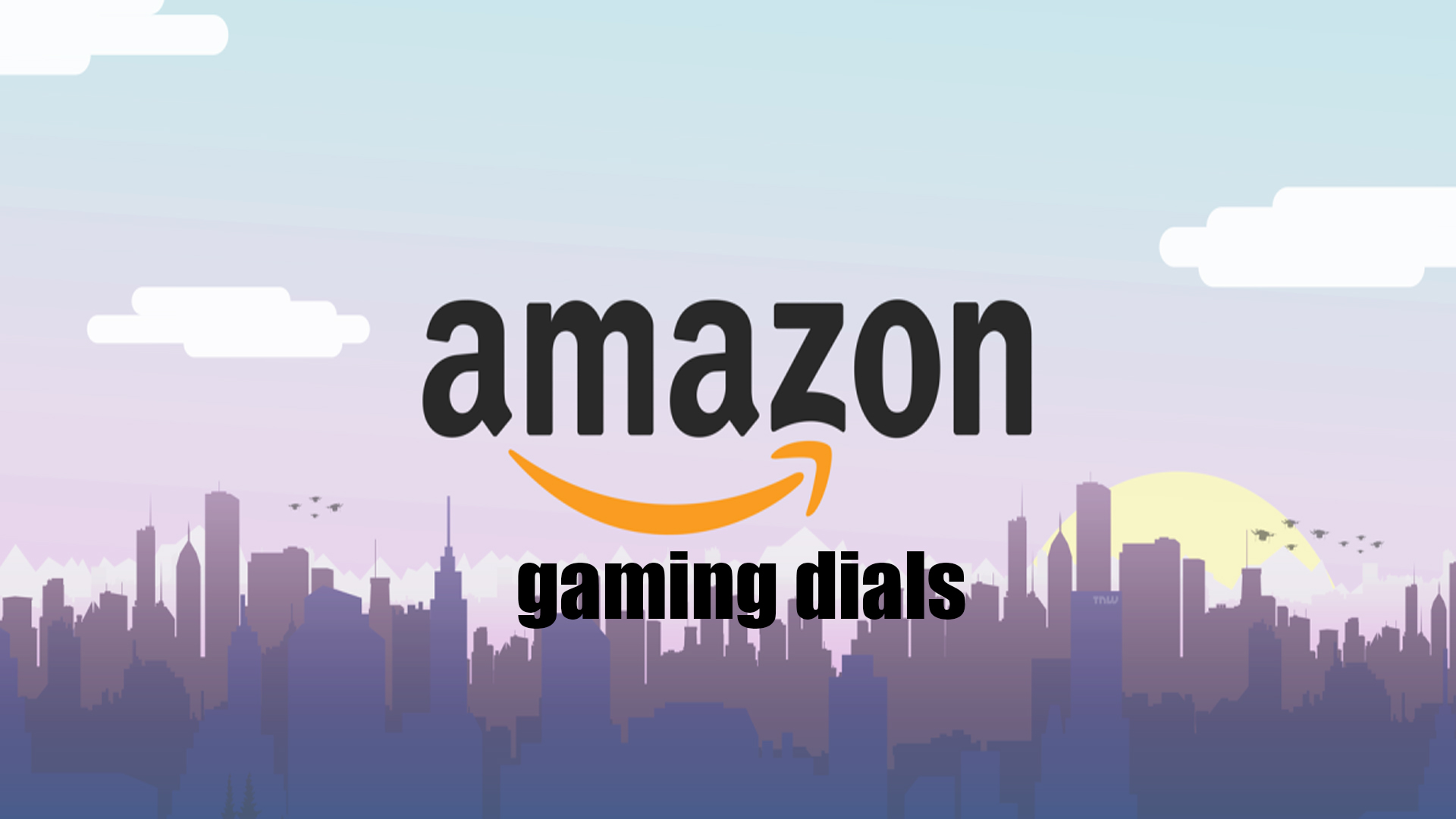 Offerte giornaliere del Amazon gaming wek