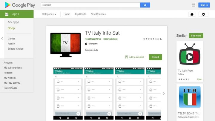 tv-italiane-android-720x405 Come guardare la TV Gratis su Android Android