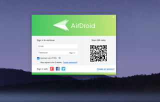 airdroid-web-320x204 Come trasferire file su Mac OS con Android Android Tutorial