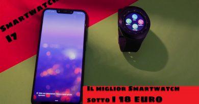 Il miglior smartwatch sotto i 18 €