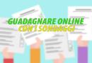 Come guadagnare da casa online con i Sondaggi