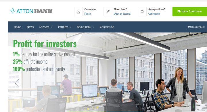attonbank.net_-720x390 AttonBank.net - Come guadagnare l'1% al giorno per ogni giorno Guadagnare crypto valute Guadagno online