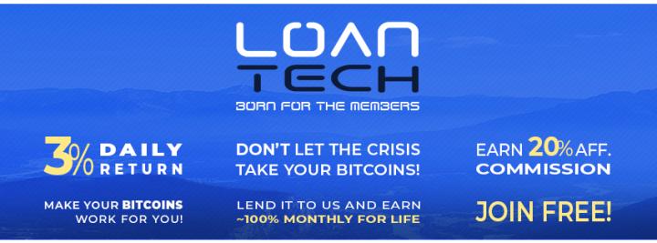 loantech-ita-720x267 LoanTech - come iniziare a investire Guadagnare crypto valute Guadagno online
