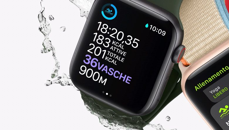 Apple ieri sera ha presentato l'Apple watch SE