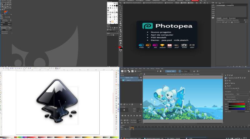Le migliori 4 alternative a Photoshop completamente gratuite